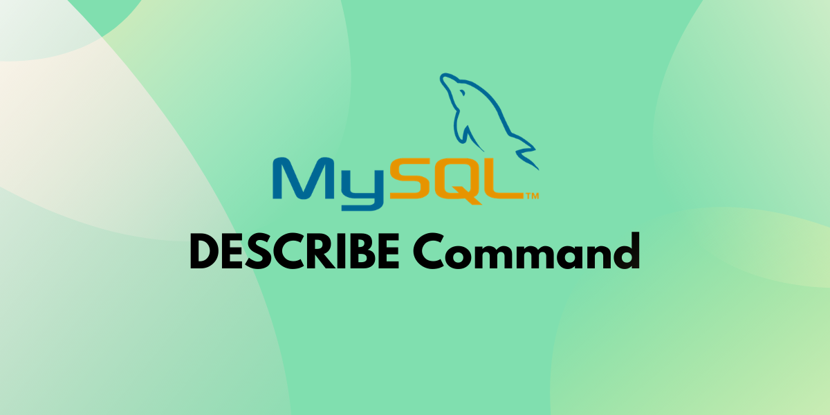 Mysql Describe Command
