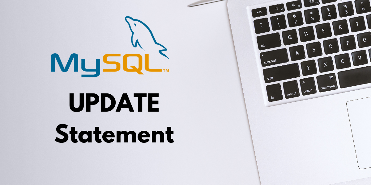 MySQL UPDATE statement