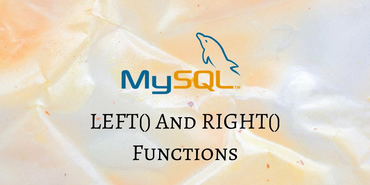 LEFT Function