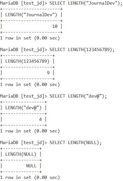 Length Basic Example