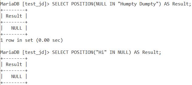 MySQL Position Basic Example 5