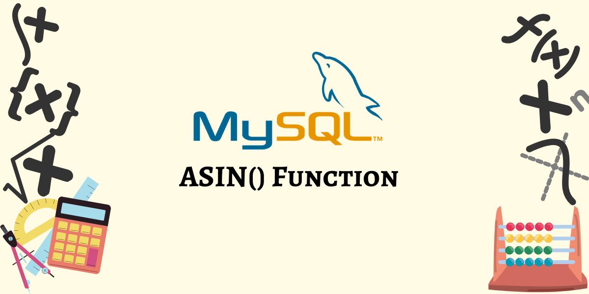ASIN Function