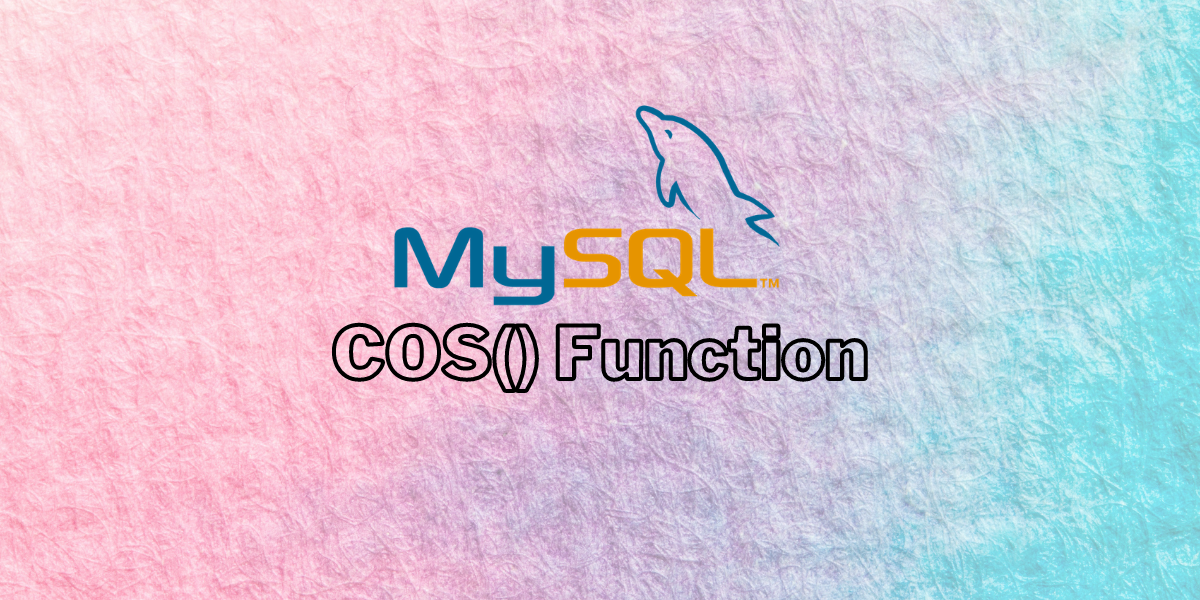 COS Function