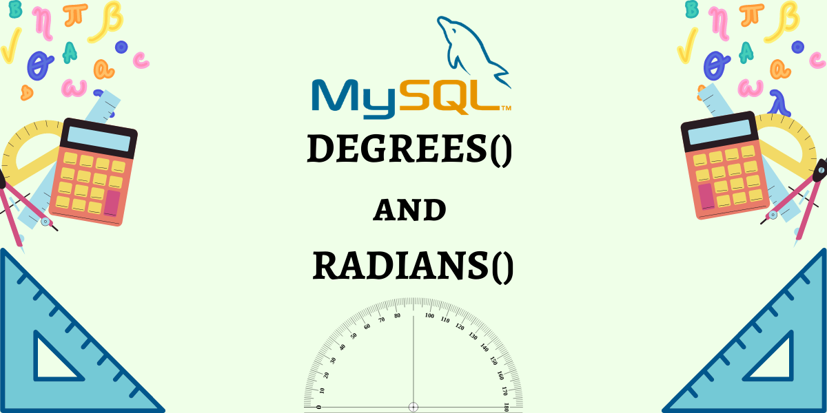 DEGREES And RADIANS