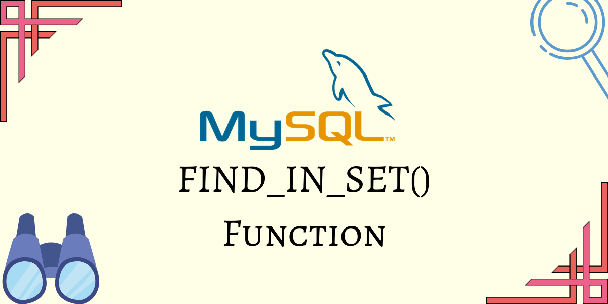 FIND IN SET Function
