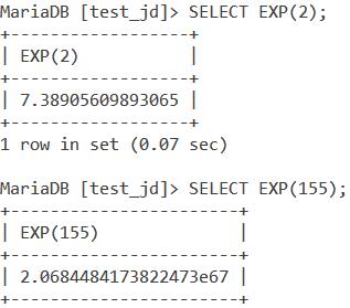 Exp Basic Example