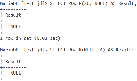 MySQL Pow And Power Basic Examples 2 2