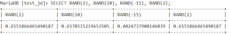 Rand Seed Example