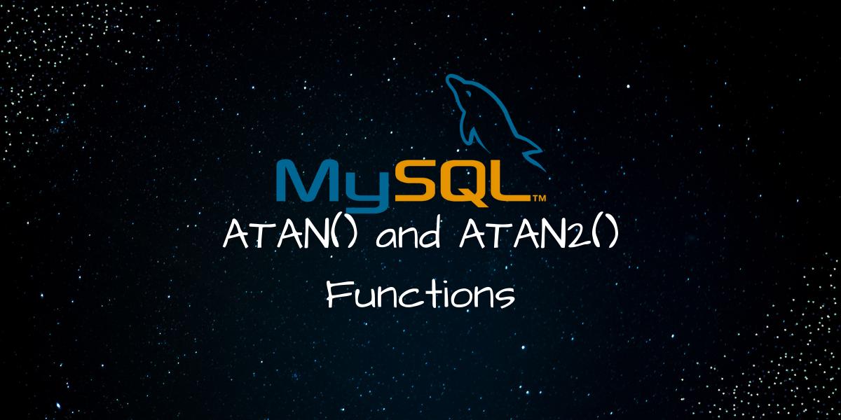ATAN ATAN2 Functions