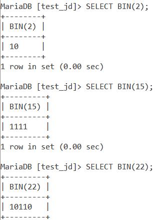 Bin Basic Example