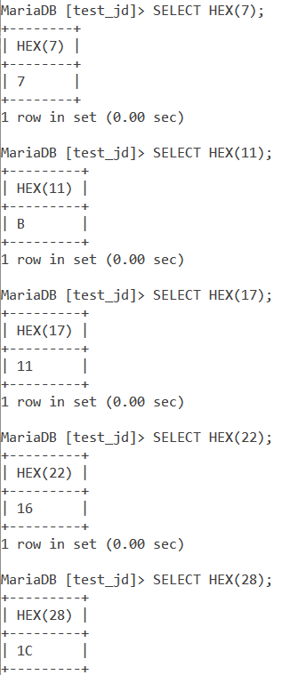Hex Basic Example