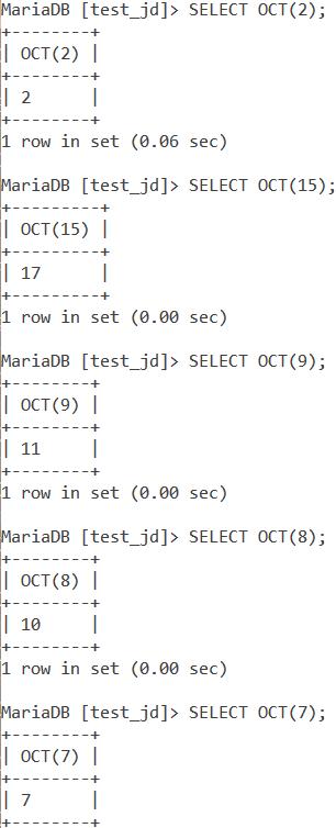 Oct Basic Example