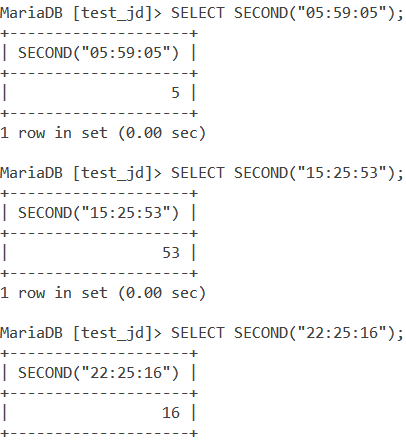 MySQL Second Basic Example