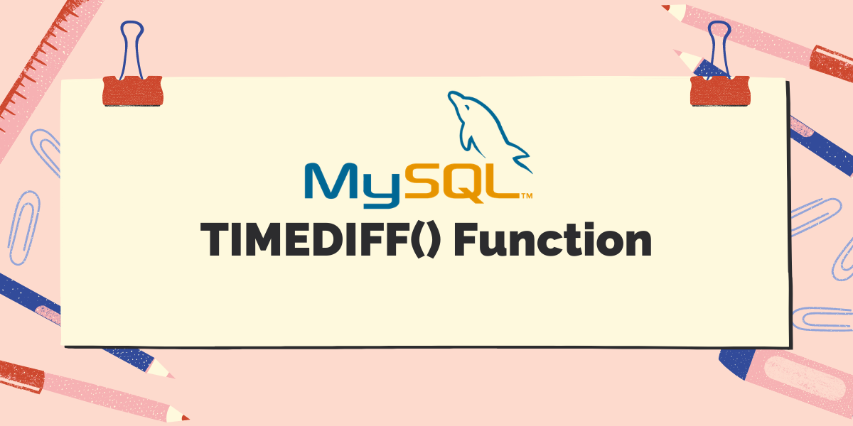 TIMEDIFF Function