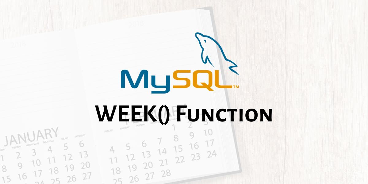 WEEK Function