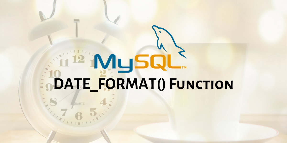 DATE FORMAT Function