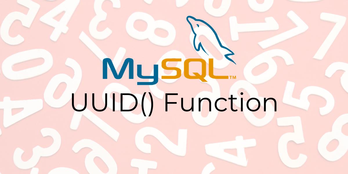 UUID Function