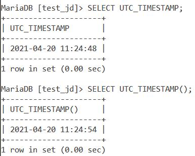 Utc Timestamp Basic Example